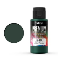 Vallejo Premium Colour Dark Green 60 ml Acrylic Airbrush Paint