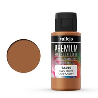 Vallejo Premium Colour Dark Ochre 60 ml Acrylic Airbrush Paint