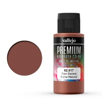 Vallejo Premium Colour Raw Sienna 60 ml Acrylic Airbrush Paint