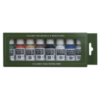 Vallejo 70103 Model Colour 8 Wargames Basics 8 Colour Acrylic Paint Set
