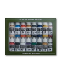 Vallejo Model Colour Napoleonic Colors 16 Colour Acrylic Paint Set