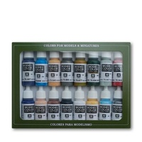 Vallejo Model Colour American Civil War 16 Colour Acrylic Paint Set