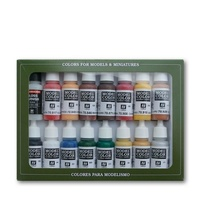 Vallejo 70148 Model Colour American Revolution 16 Colour Acrylic Paint Set