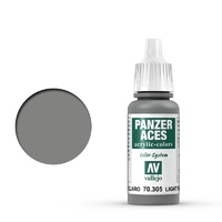 Vallejo Panzer Aces Light Rubber 17 ml Acrylic Paint