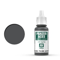 Vallejo Panzer Aces Dark Rubber 17 ml Acrylic Paint