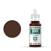 Vallejo Panzer Aces German Red Tail Light 17 ml Acrylic Paint
