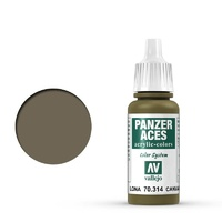 Vallejo Panzer Aces Canvas 17 ml Acrylic Paint