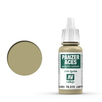 Vallejo 70315 Panzer Aces Light Mud 17 ml Acrylic Paint