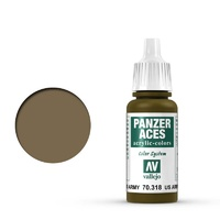 Vallejo Panzer Aces US Army Tanker 17 ml Acrylic Paint