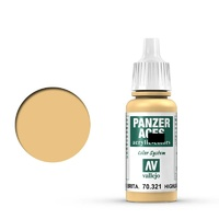 Vallejo Panzer Aces Bristish Tanker Highlights 17 ml Acrylic Paint