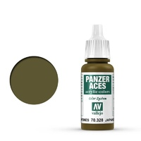 Vallejo 70328 Panzer Aces Japanese Tanker 17 ml Acrylic Paint