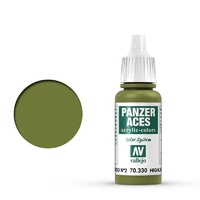 Vallejo 70330 Panzer Aces Rus Tanker Highlights 17 ml Acrylic Paint