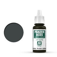 Vallejo Panzer Aces German Tanker (Black) 17 ml Acrylic Paint