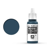 Vallejo Model Colour Metallic Metal Blue 17 ml Acrylic Paint