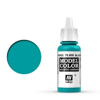 Vallejo Model Colour Blue Green 17 ml Acrylic Paint