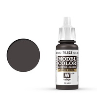 Vallejo 70822 Model Colour #150 German Cam Black Brown 17 ml Acrylic Paint