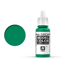 Vallejo Model Colour Emerald 17 ml Acrylic Paint