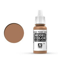 Vallejo Model Colour Cork Brown 17 ml Acrylic Paint