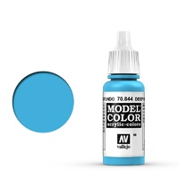 Vallejo 70844 Model Colour #066 Deep Sky Blue 17 ml Acrylic Paint