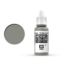 Vallejo 70864 Model Colour #178 Metallic Natural Steel 17 ml Acrylic Paint
