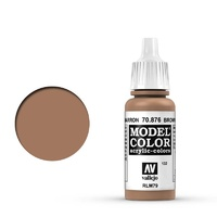 Vallejo Model Colour Brown Sand 17 ml Acrylic Paint
