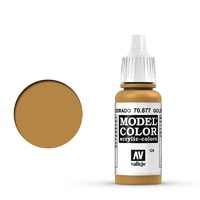 Vallejo Model Colour Goldbrown 17 ml Acrylic Paint