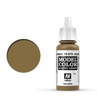 Vallejo 70879 Model Colour #114 Green Brown 17 ml Acrylic Paint