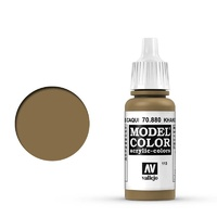 Vallejo Model Colour Khaki Grey 17 ml Acrylic Paint