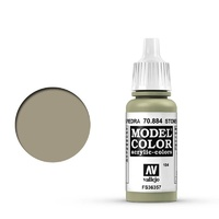 Vallejo Model Colour Stone Grey 17 ml Acrylic Paint