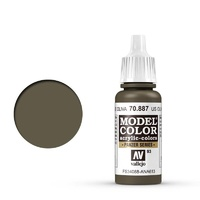 Vallejo Model Colour Olive Drab 17 ml Acrylic Paint