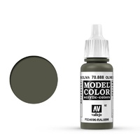 Vallejo 70888 Model Colour #092 Olive Grey 17 ml Acrylic Paint
