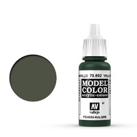Vallejo 70892 Model Colour #087 Yellow Olive 17 ml Acrylic Paint