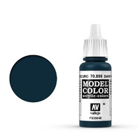 Vallejo 70899 Model Colour #050 Dark Prussian Blue 17 ml Acrylic Paint