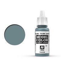 Vallejo 70904 Model Colour #157 Dark Blue Grey 17 ml Acrylic Paint