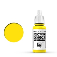 Vallejo 70915 Model Colour #014 Deep Yellow 17 ml Acrylic Paint