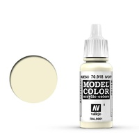 Vallejo Model Colour Ivory 17 ml Acrylic Paint