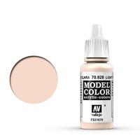 Vallejo 70928 Model Colour #006 Light Flesh 17 ml Acrylic Paint