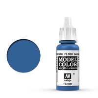 Vallejo Model Colour Dark Blue 17 ml Acrylic Paint