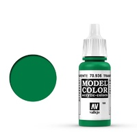 Vallejo Model Colour Transparent Green 17 ml Acrylic Paint