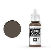 Vallejo 70941 Model Colour #148 Burnt Umber 17 ml Acrylic Paint