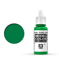 Vallejo Model Colour Light Green 17 ml Acrylic Paint