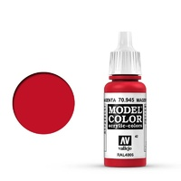 Vallejo 70945 Model Colour #042 Magenta 17 ml Acrylic Paint