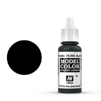 Vallejo 70950 Model Colour #169 Black 17 ml Acrylic Paint