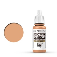Vallejo 70955 Model Colour #018 Flat Flesh 17 ml Acrylic Paint