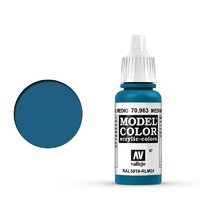 Vallejo Model Colour Medium Blue 17 ml Acrylic Paint