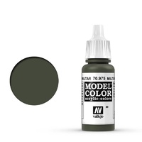 Vallejo 70975 Model Colour #089 Military Green 17 ml Acrylic Paint