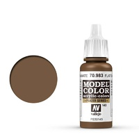 Vallejo 70983 Model Colour #143 Flat Earth 17 ml Acrylic Paint