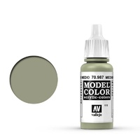 Vallejo 70987 Model Colour #111 Medium Grey 17 ml Acrylic Paint