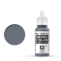 Vallejo Model Colour Neutral Grey 17 ml Acrylic Paint