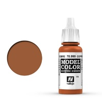 Vallejo 70999 Model Colour #176 Metallic Copper 17 ml Acrylic Paint